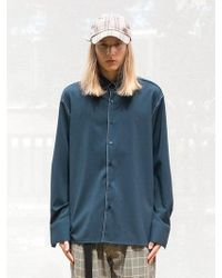 Add - Stitch Loose Fit Shirts Green - Lyst
