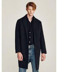 LIUNICK - Especial Overfit Coat Black - Lyst