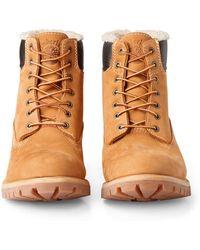 Timberland - Premium Fur Boots - Lyst