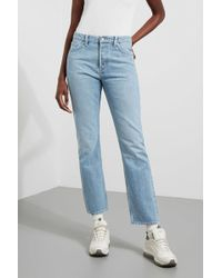 Weekday - Line Wow Blue Jeans - Lyst
