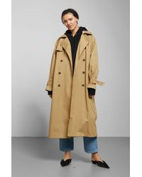 Weekday - Isa Trench Coat - Lyst