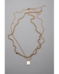 Weekday - Pen Necklace Set - Lyst