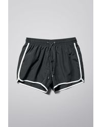 Weekday - Tan Swim Shorts - Lyst