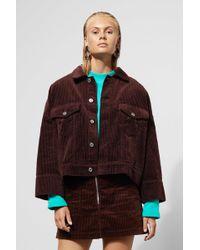 Weekday - Wide Sleeve Cord Jacket - Lyst
