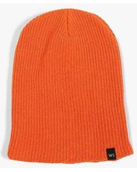 Welcome Stranger - Overdyed Cotton Beanie - Lyst