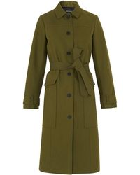 Whistles - Gia Single Breasted Trench - Lyst