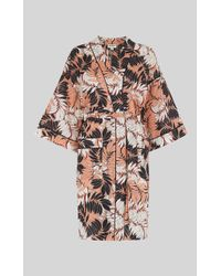 Whistles - Fern Print Dressing Gown - Lyst