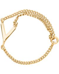 Whistles - Arrow Chain Ring - Lyst
