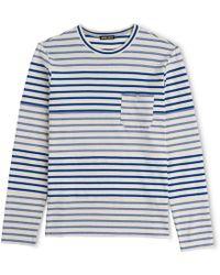 Whistles | Multi Stripe Breton | Lyst