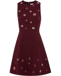 Whistles - Willow Embellished Dress - Lyst