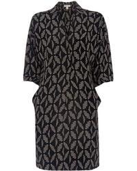 Whistles - Lola Geo Printed Dress - Lyst