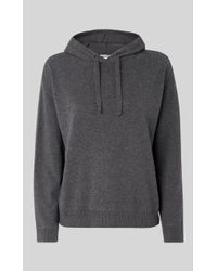 Whistles - Knitted Lounge Hoodie - Lyst
