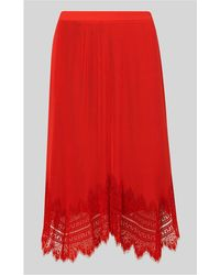 Whistles - Dahlia Pleated Skirt - Lyst