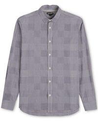 Whistles - Patchwork Gingham Shirt - Lyst