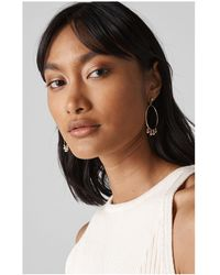 Whistles - Multi Sphere Drop Earring - Lyst