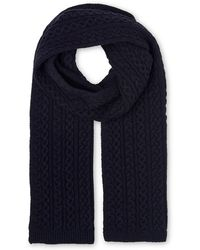 Whistles | Cable Knit Scarf | Lyst