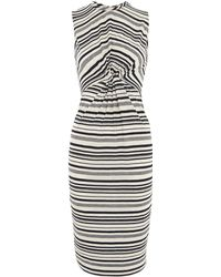 Whistles - Carrie Stripe Jersey Dress - Lyst