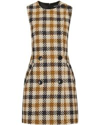 Whistles - Marrion Tweed Check Dress - Lyst