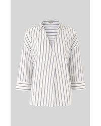 Whistles - Lola Stripe Shirt - Lyst