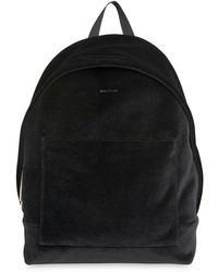 Whistles - Crossly Velvet Sporty Backpack - Lyst