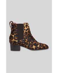 Whistles - Daisley Leopard Boot - Lyst