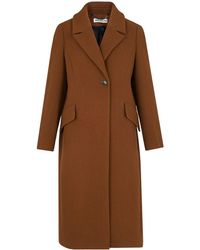 Whistles - Bonnie Single Button Coat - Lyst