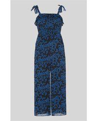 Whistles - Bali Print Jumpsuit - Lyst