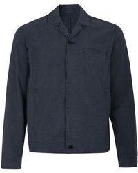 Whistles - Micro Check Battle Jacket - Lyst