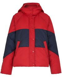 Whistles - Iva Casual Colorblock Puffer - Lyst