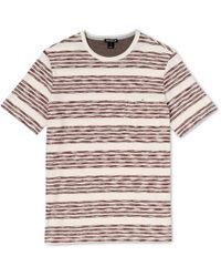Whistles | Broken Stripe T-shirt | Lyst