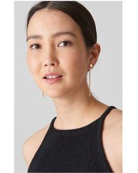 Whistles - Drop Back Stud Earring - Lyst