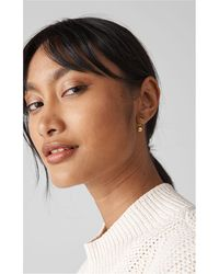 Whistles - Sphere Drop Back Earring - Lyst
