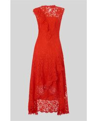 Whistles - Willow Lace Dress - Lyst