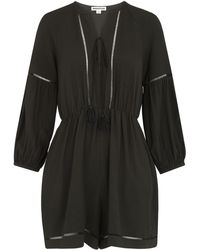 Whistles - Mimi Ladder Detail Playsuit - Lyst