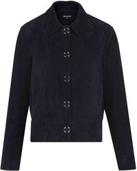 Whistles - Turner Suede Jacket - Lyst