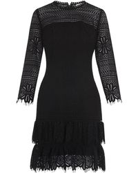 Whistles - Marylou Lace Dress - Lyst