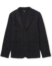 Whistles - Knitted Blazer - Lyst