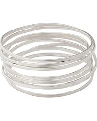 Whistles - Made Birds Nest Bangle - Lyst