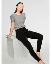 White + Warren - Essential Cashmere Sweatshirt - Lyst