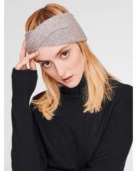 White + Warren - Cashmere Crossover Headband - Lyst