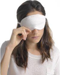 White + Warren | Cashmere Eye Mask | Lyst