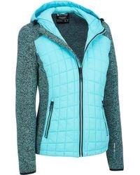 Wilsons Leather - G.i.g.a. Dx By Killtec Hybrid Knit Jacket W/ Hood - Lyst