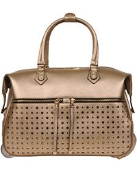 Wilsons Leather - Mellow World Odell Rolling Duffel W/ Stud Accent - Lyst
