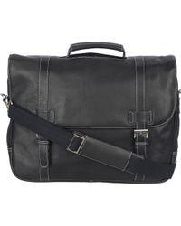 Wilsons Leather - Vacqueta Porthole-handle Genuine Leather Brief - Lyst