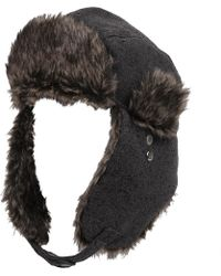 313c51a113e Lyst - Bcbgeneration Wool Gaucho Hat in Natural for Men