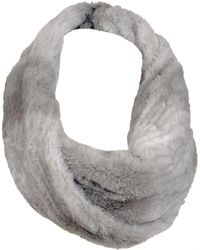 Wilsons Leather   Plush Ombre Faux-fur Infinity Scarf   Lyst