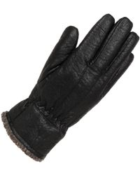 Wilsons Leather - Sherpa-lined Textured Glove W/ Thinsulate Lining - Lyst