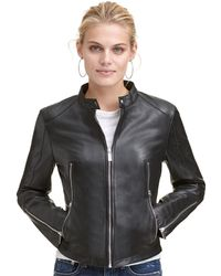 Wilsons Leather - Designer Brand Classic Genuine Leather Scuba Jacket - Lyst