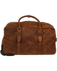 Wilsons Leather - Thunder Rolling Leather Duffel - Lyst
