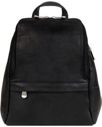 3d3087eeb2c3 Wilsons Leather - Le Donne Small Top Round Zip Leather Backpack - Lyst